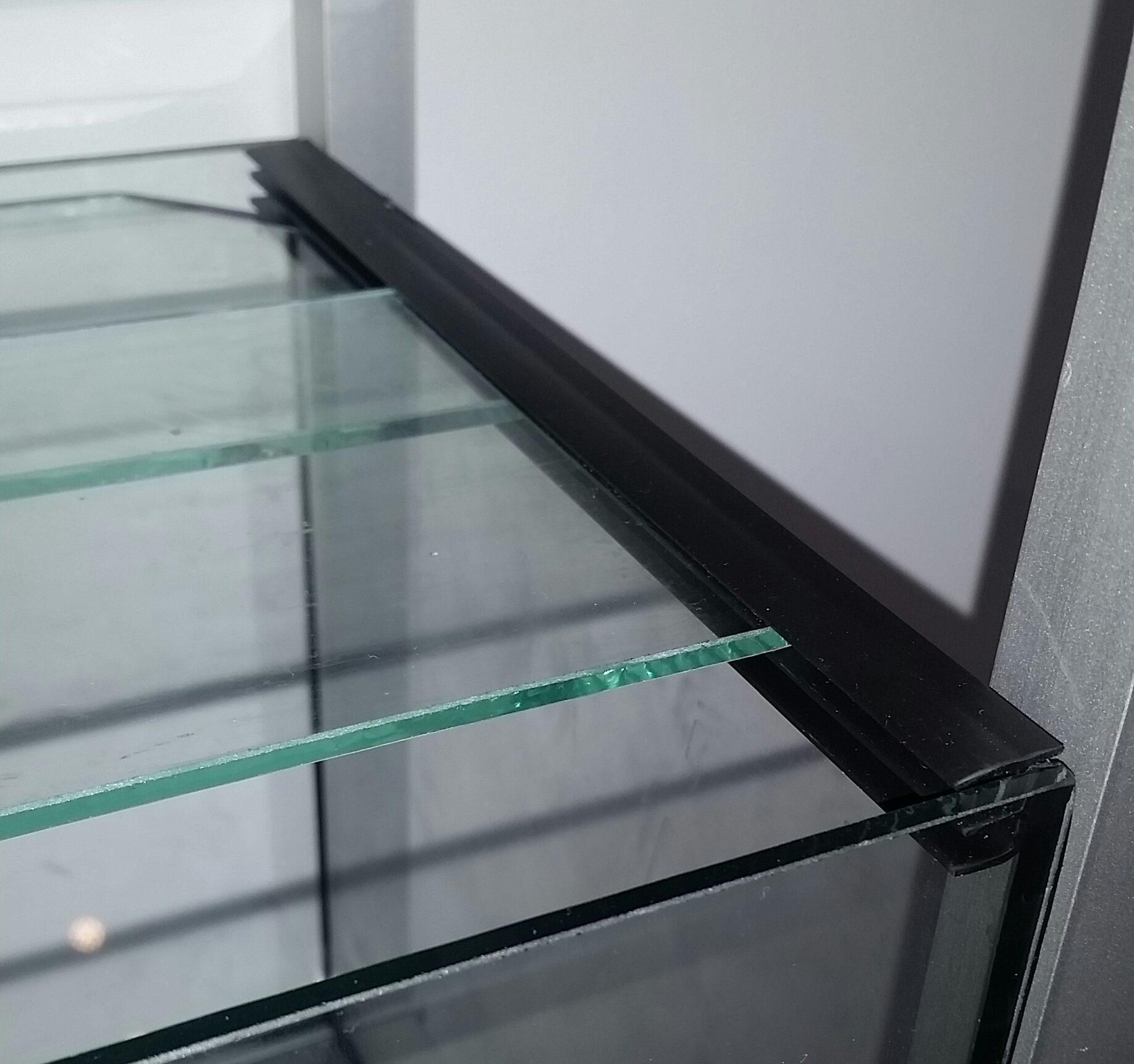 aquariumabdeckung mit schiebesystem f r 54 liter becken. Black Bedroom Furniture Sets. Home Design Ideas