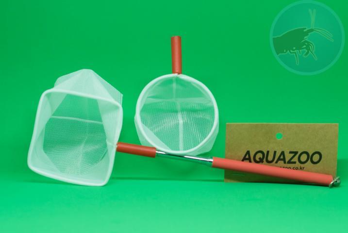 Aquazoo teleskopkescher mit formstabilem netz verhindert verletzungen