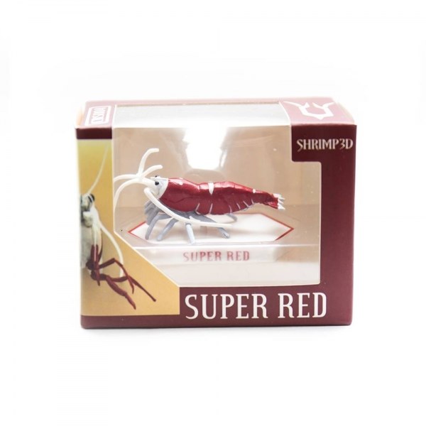 3D Shrimp-crystal red